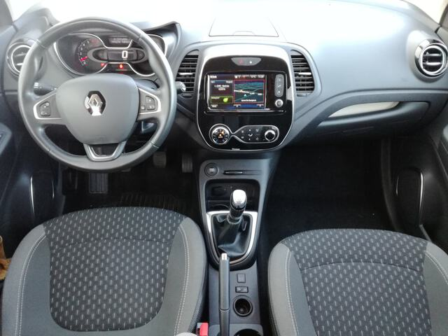 Inside Captur  ROJO