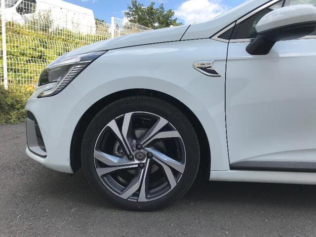 CLIO RS Line BLANC GLACIER