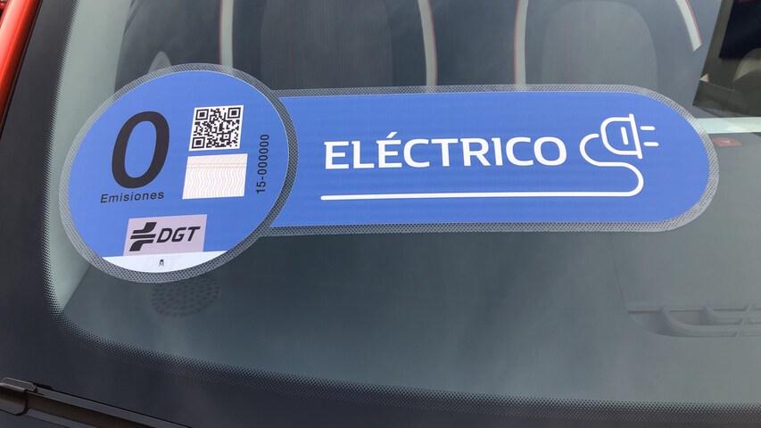 Inside Twingo Electric  Naranja Valencia