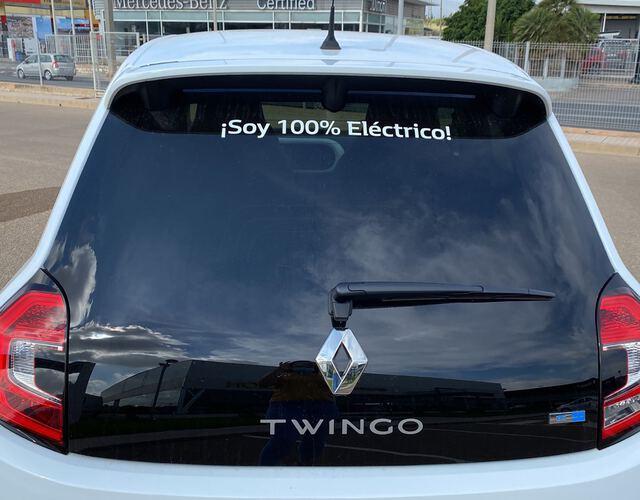Outside Twingo Electric  Blanco Cristal