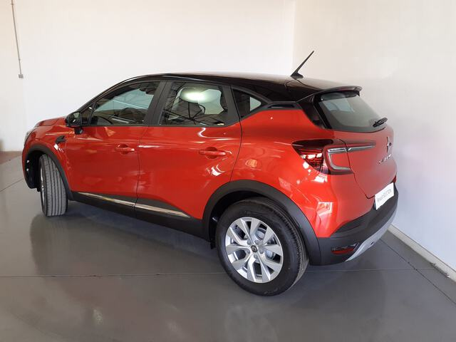 Outside Captur Diesel  Rojo