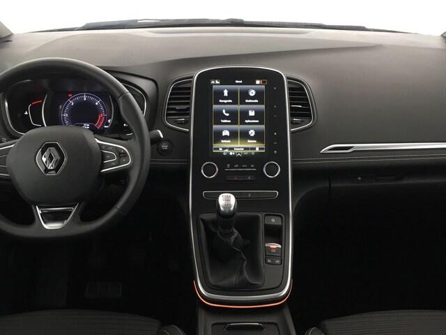 Inside Grand Scénic Diesel  Negro