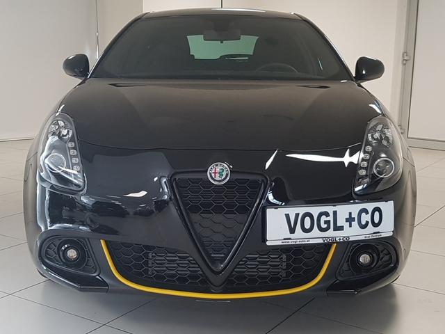 Außenausstattung GIULIETTA Alfa White           schwarz
