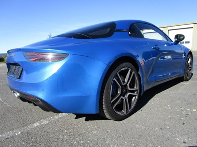 Extérieur Alpine A110  bleu