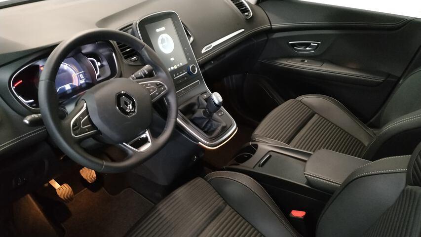 Inside Grand Scénic Diesel  Blanco