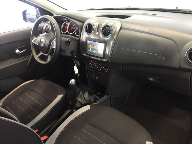 Inside Logan MCV Diesel  AZUL