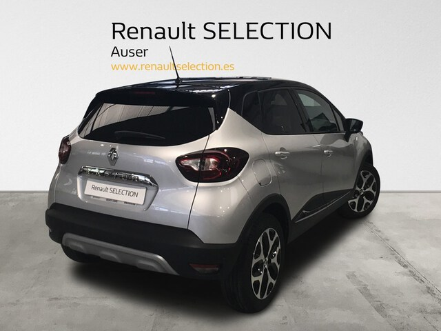 Outside Captur  Gris Platino / Techo